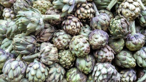 Artichokes at United Brothers Fruit Market Photo by Veronica Hackethal