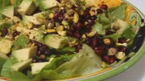 Christmas Salad Photo by Veronica Hackethal