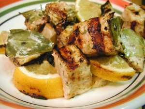 Marinated Grilled Swordfish Photo via Wikimedia Commons